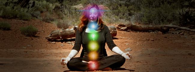 Debra Meditating