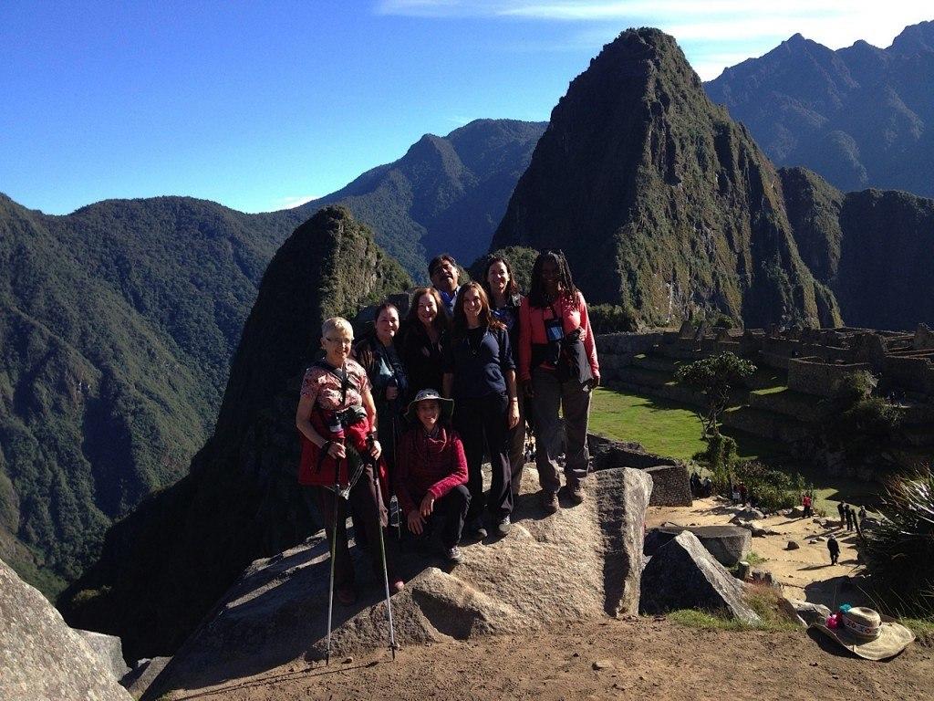 Group Machu Picchu 1