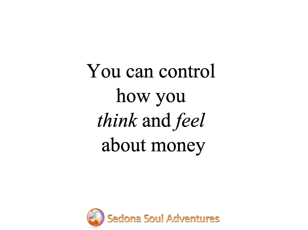 control how you think about money