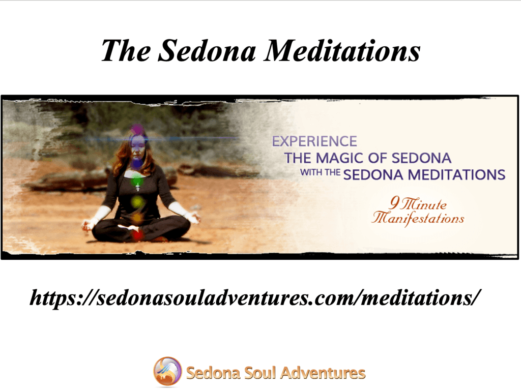 the sedona meditations