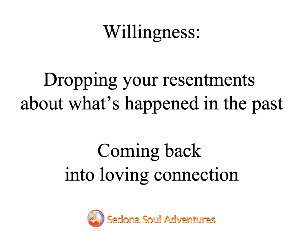 drop resentments