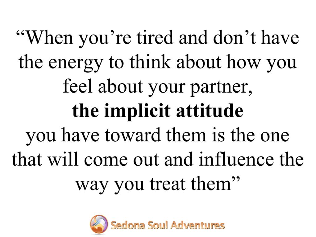 implicit attitude