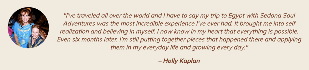 holly kaplan egypt testimonial