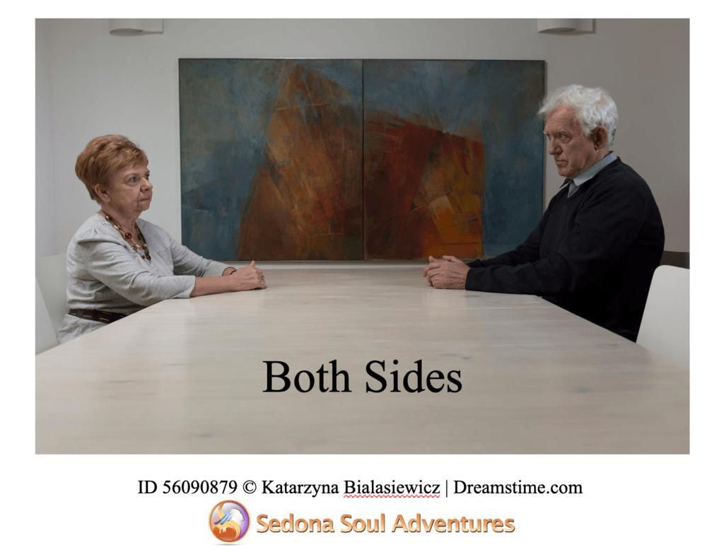 happens on both sides