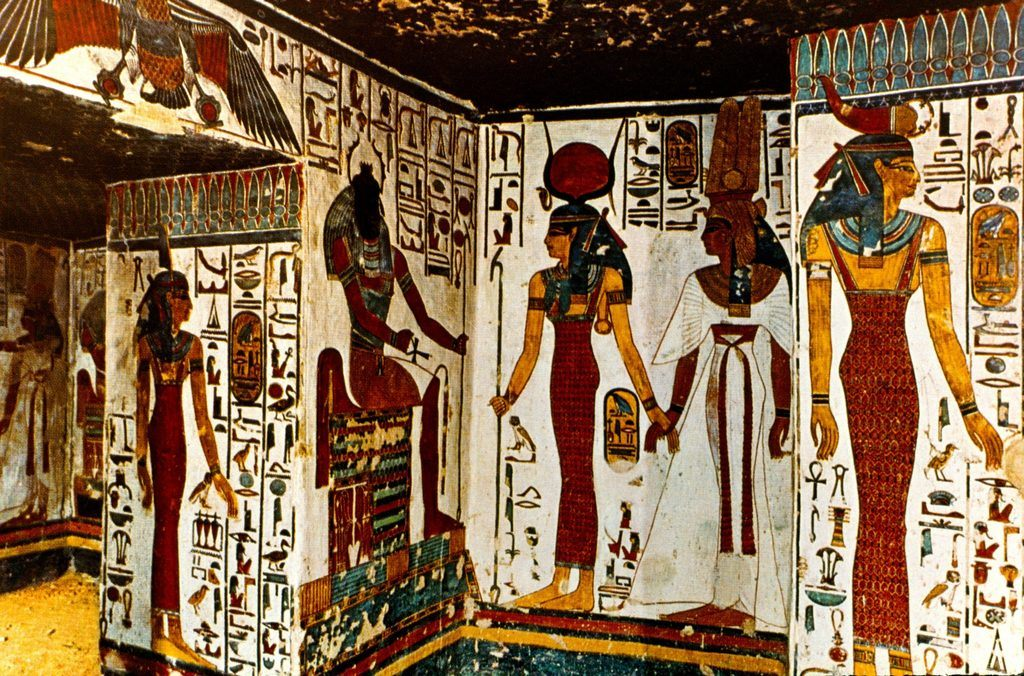 egypt wall paintings
