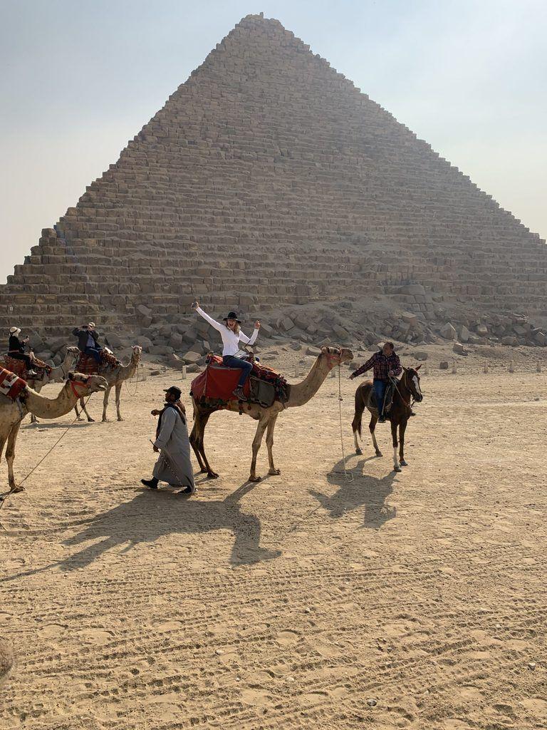 egypt 2021 pyramid camel